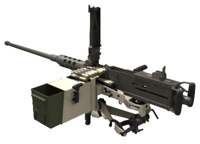 50 Cal Gun Mount Army