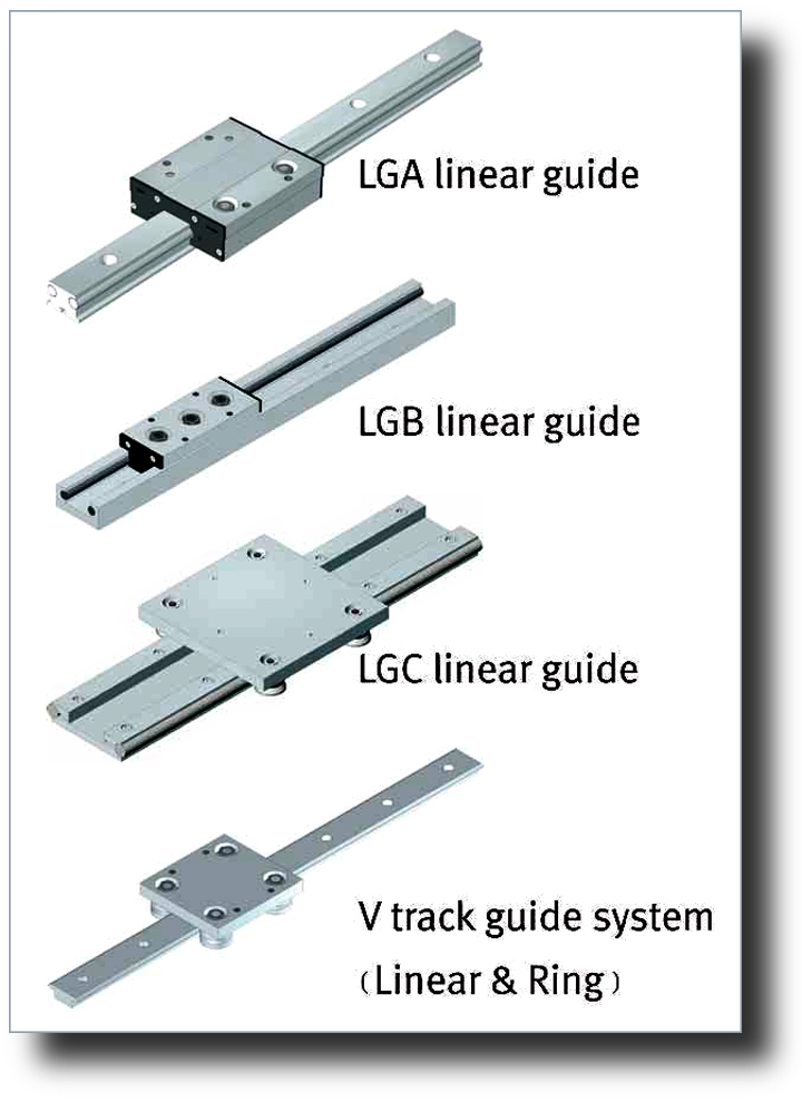 Motion Control Linear Guides