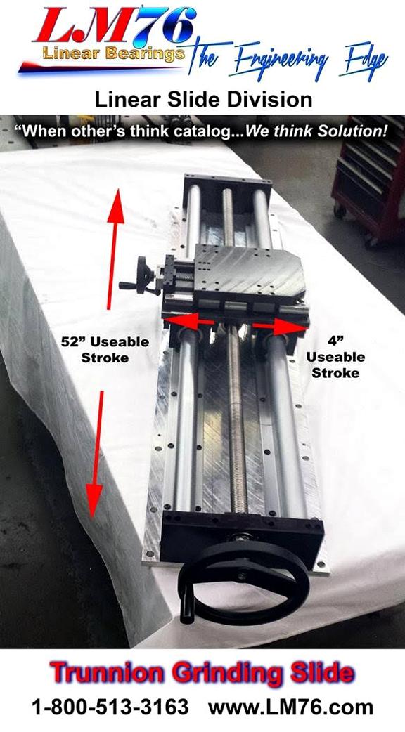 motion control grinding slide