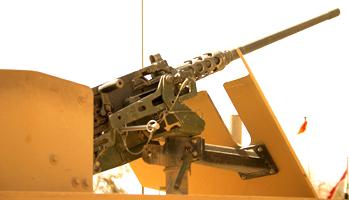 LM76 - 50 Cal Gun Mount Army-