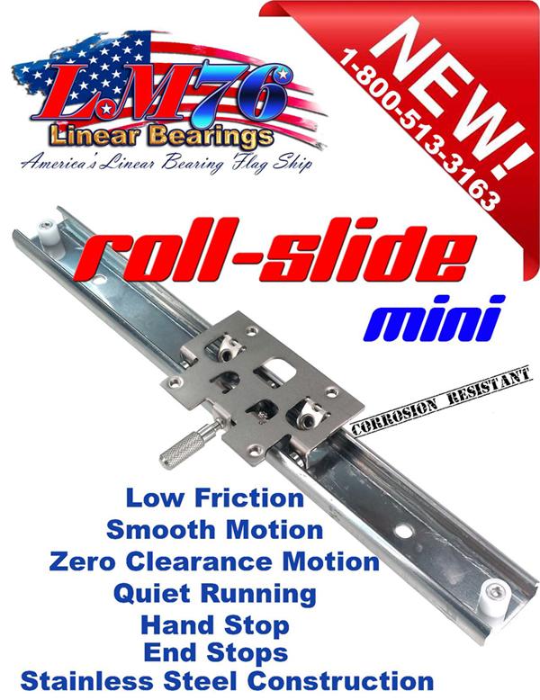 Motion Control Roller Slide Assembly