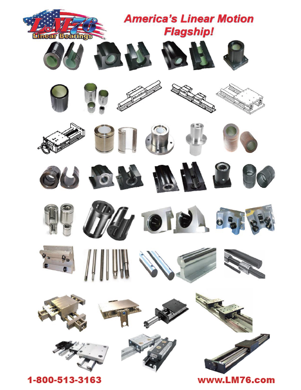Linear Motion Bearings & Systems Overviews