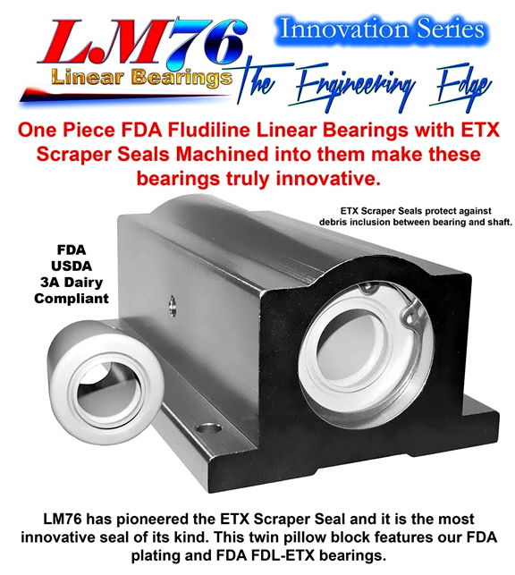 Engineering Edge -FDA Bearings/Scrapers